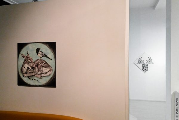 piezas en pared de animales